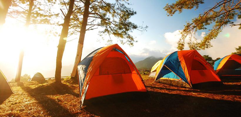 Un emplacement Camping en pleine nature