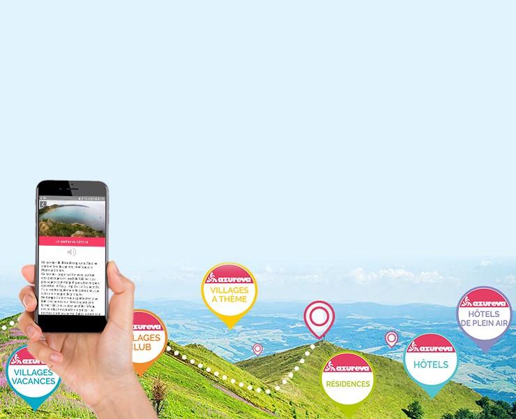 Découvrez l'Application Mobile Azureva
