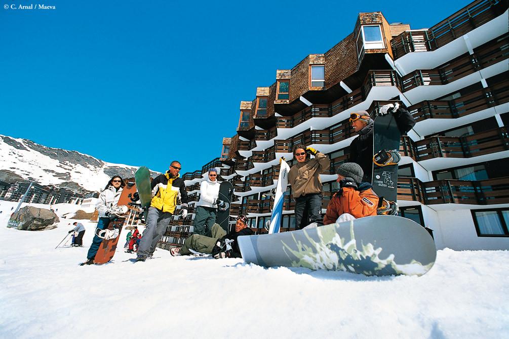 village vacances neige val thorens