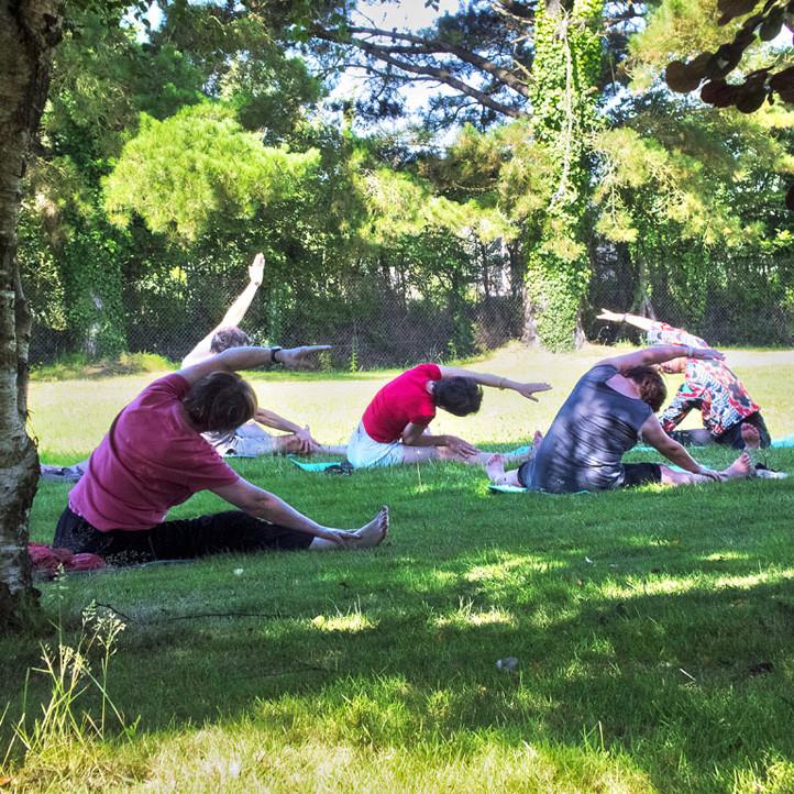 village vacances bien etre tregunc yoga