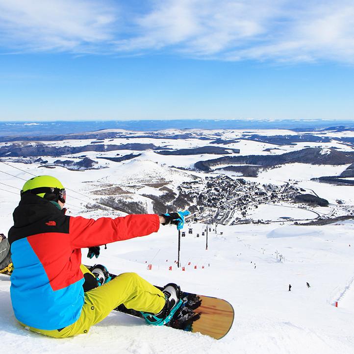 village vacances location murol montagne hiver a decouvrir